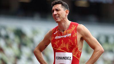 Sergio Fernández, eliminado en los 400 metros vallas
