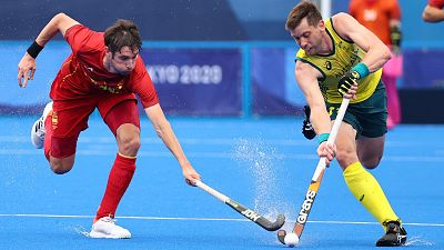 España empata contra Australia y avanza a cuartos