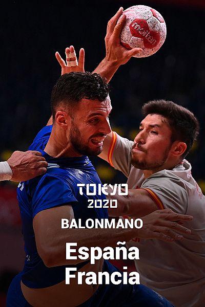 Balonmano: España - Francia