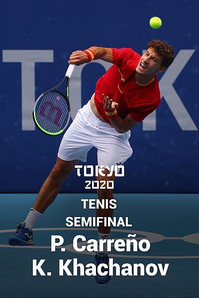 Tenis. Semifinal: P. Carreño - K. Khachanov