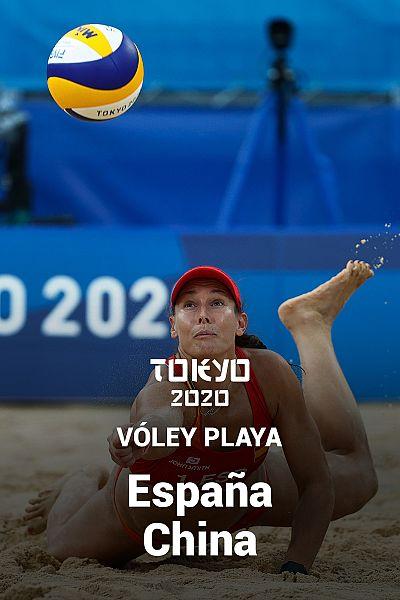 Voley Playa: España - China