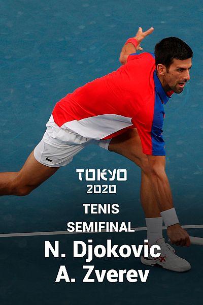 Tenis. Semifinal: N. Djokovic - A. Zverev