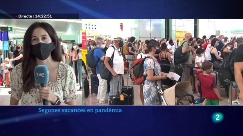 L'aeroport del Prat operarà 2.700 vols fins a dilluns
