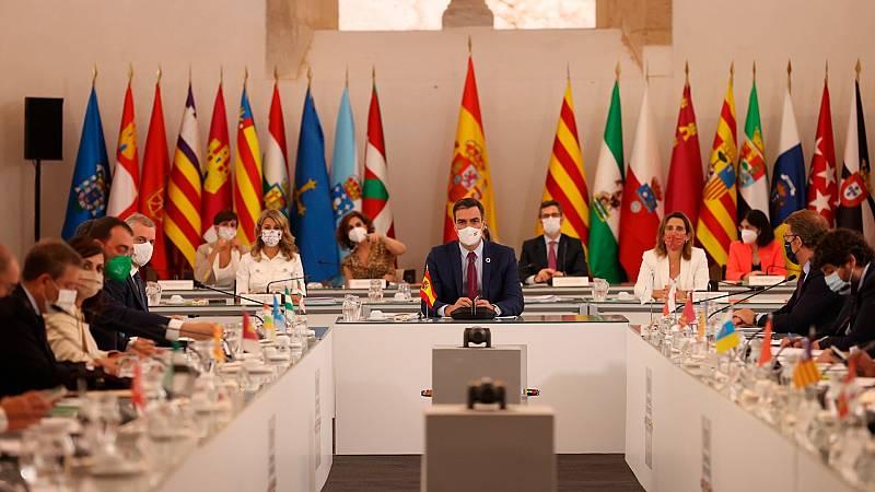 Los presidentes autonómicos piden equidad en el reparto de los fondos europeos y que no se premie a los ausentes, en referencia a Cataluña