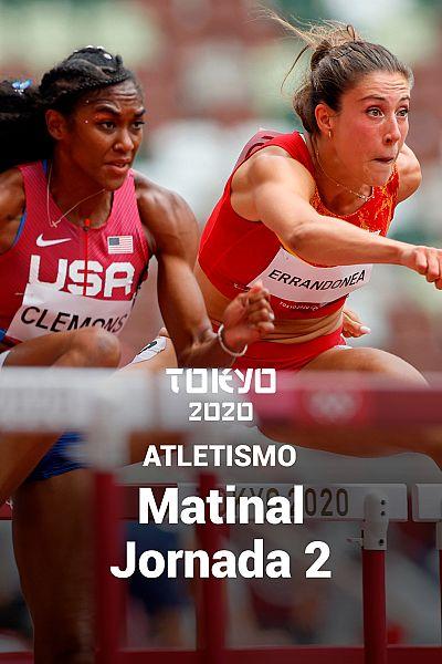 Atletismo: Sesión Matinal. Jornada 2