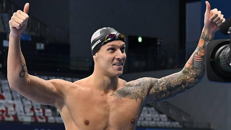 Caeleb Dressel suma su tercer oro olímpico al ganar los 100 mariposa con récord mundial