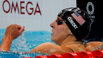 Katie Ledecky sigue reinando en los 800m libres