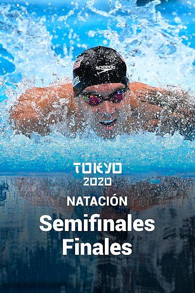 Natación - Semifinales y Final. Jornada 7