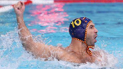 La selección masculina de waterpolo golea a Australia