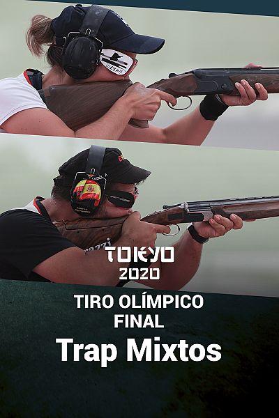 Tiro Olímpico. Final: Trap Equipos Mixtos