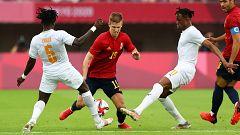 Tokyo 2020 - Fútbol masculino. Cuartos de final: España - Costa de Marfil
