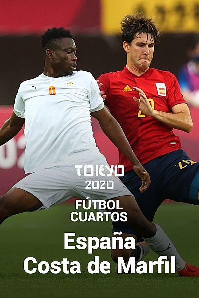 Fútbol. Cuartos: España - Costa de Marfil