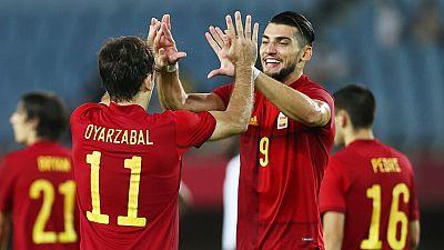 España pasa a semifinales tras vencer a Costa de Marfil
