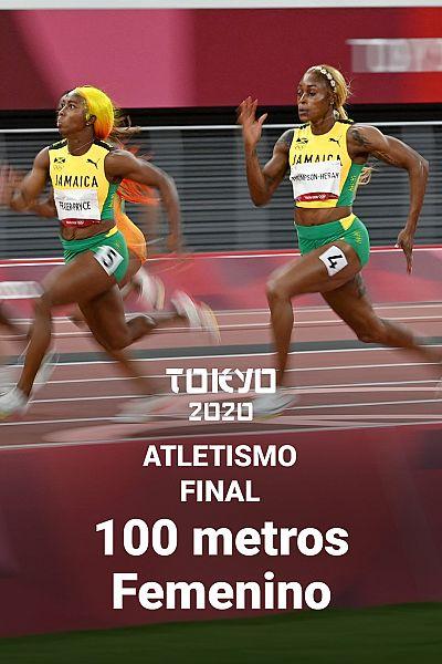 Final femenina 100 metros lisos