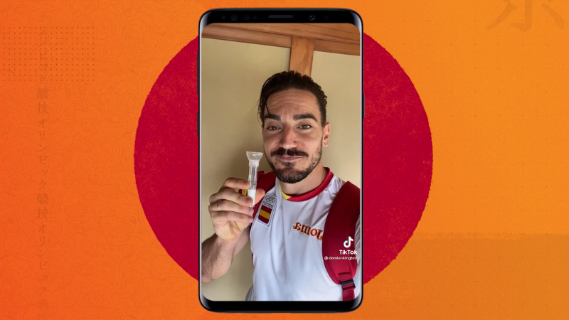 Damián Quintero enseña el test diario que se realizan los deportistas olímpicos - Ver ahora