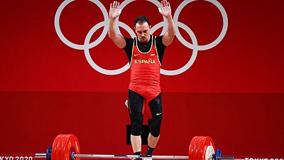 Andrés Mata logra su tercer diploma olímpico en halterofilia