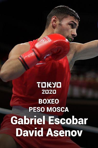 Boxeo: Mosca octavos: Gabriel Escobar - Daniel Asenov