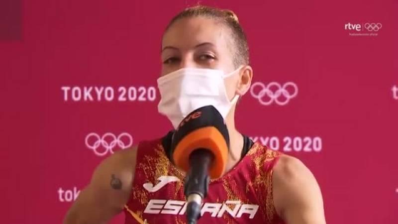 """Carolina Robles: """"No he dudado en levantarme, quería llegar a meta"""""""
