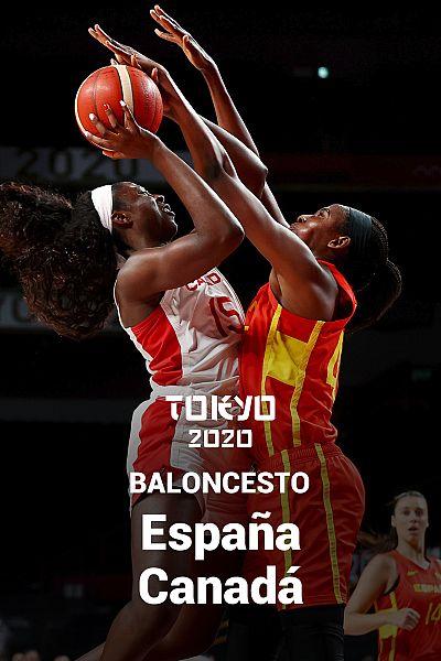 Baloncesto: España - Canadá