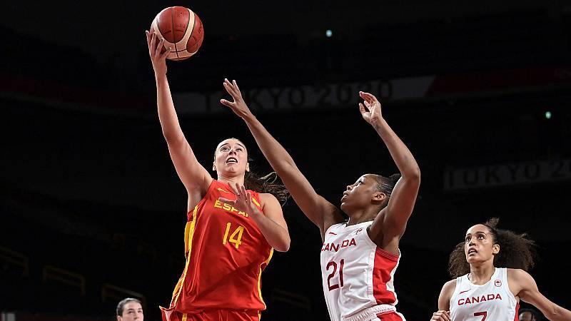 Tokyo 2020 - Baloncesto Femenino. Grupo A: España - Canadá - Ver ahora