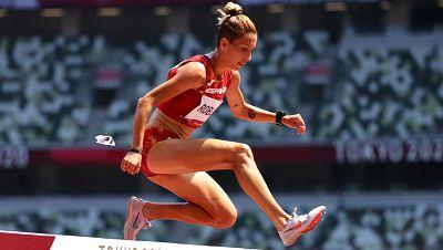 Carolina Robles, a la final de 3000 m obstáculos
