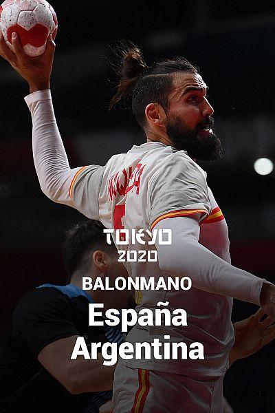 Balonmano: España - Argentina