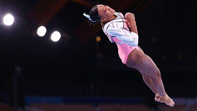 La brasileña Rebeca Andrade se lleva el oro en salto
