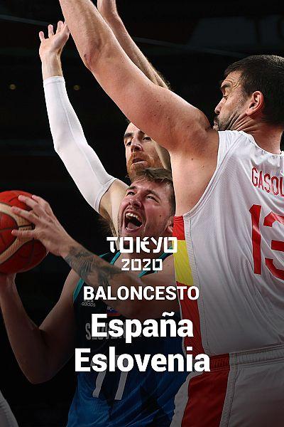 Baloncesto: España - Eslovenia