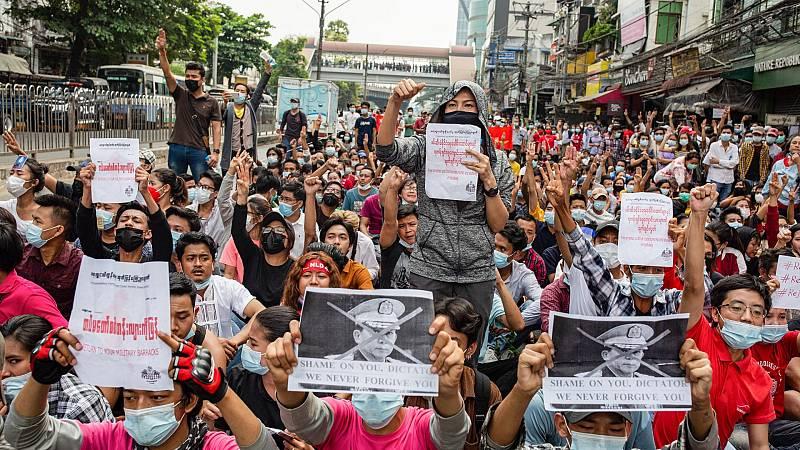 Seis meses del golpe de Estado en Birmania