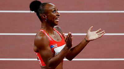 Camacho-Quinn bate el récord olímpico en 100 metros vallas