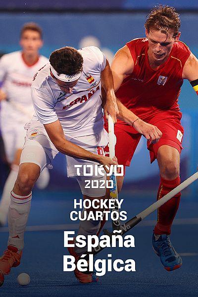 Hockey. Cuartos: España - Bélgica