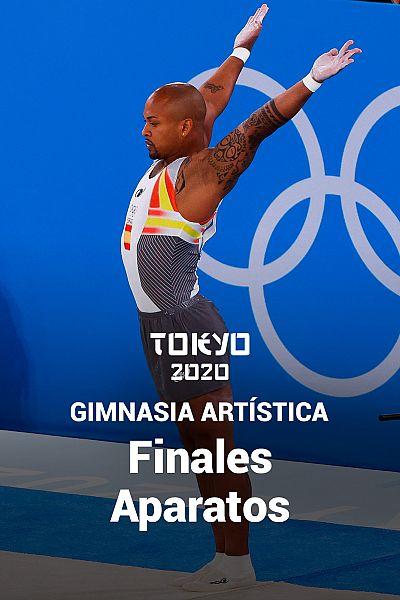 Gimnasia artística: Finales aparatos