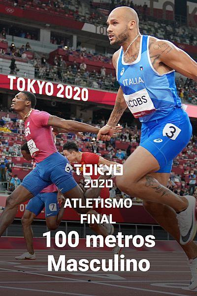 Así ha sido la final de los 100 metros masculinos