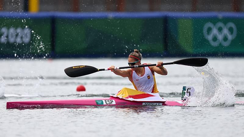 Teresa Portela se clasifica directamente a las semifinales de K-1 200