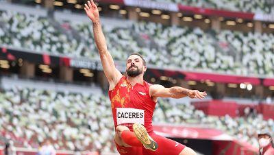 Eusebio Cáceres roza la medalla de bronce