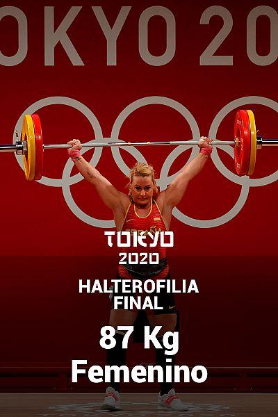 Halterofilia. Final: 87kg