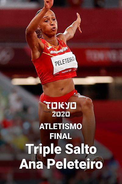 Ana Peleteiro bate el récord de España en Triple salto