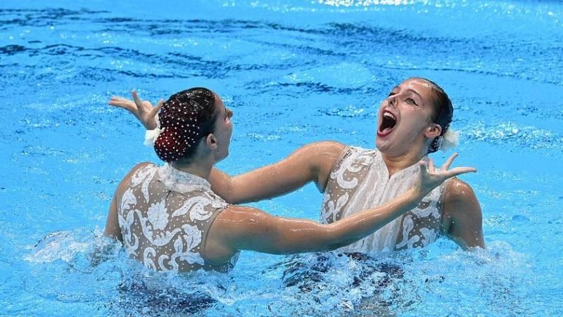 Tokyo 2020 | Así ha sido el ejercicio libre del dúo español en natación artística