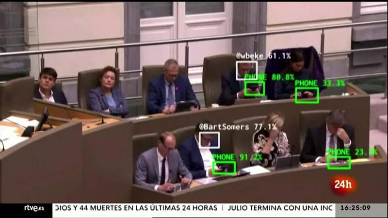 Parlamento - Otros parlamentos - Vigilancia en el parlamento flamenco - 31/07/2021