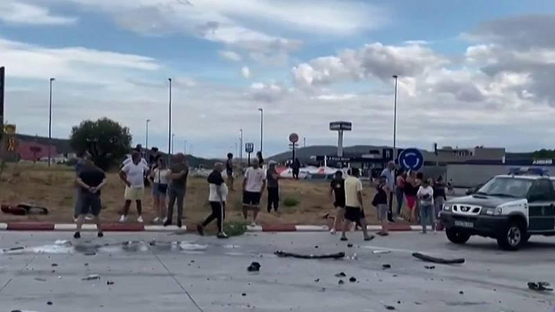 Detenido un camionero ebrio tras provocar un atropello mortal en la Junquera, Girona