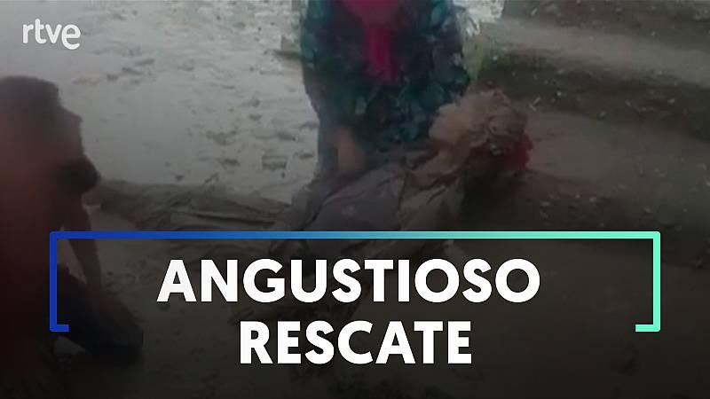 Una joven turca acaba arrastrada por una riada al intentar reunirse con su hermano