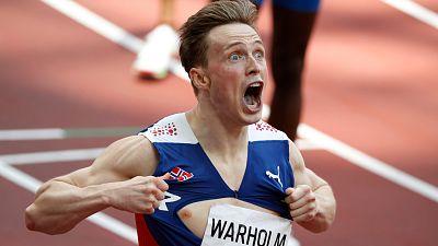 Karsten Warholm, oro y récord mundial en 400 metros vallas