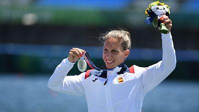 Teresa Portela gana la plata en K1 200