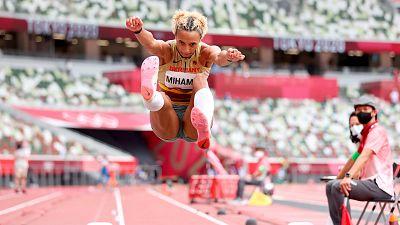 Mihambo, oro en el último salto