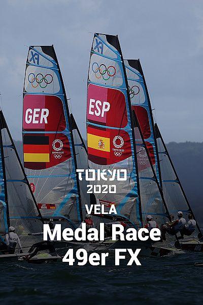 Vela: Medal Race 49er FX