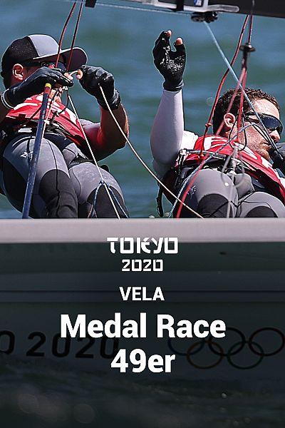 Vela: Medal Race 49er