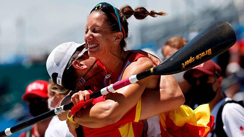 Teresa Portela logra su primera medalla en sus sextos Juegos Olímpicos