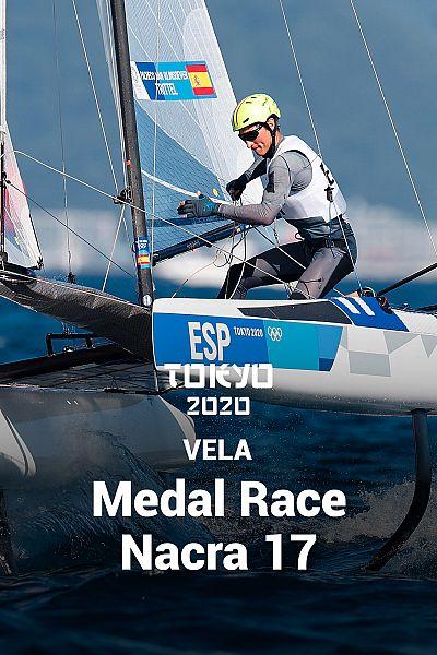 Vela femenino: Medal Race Nacra 17