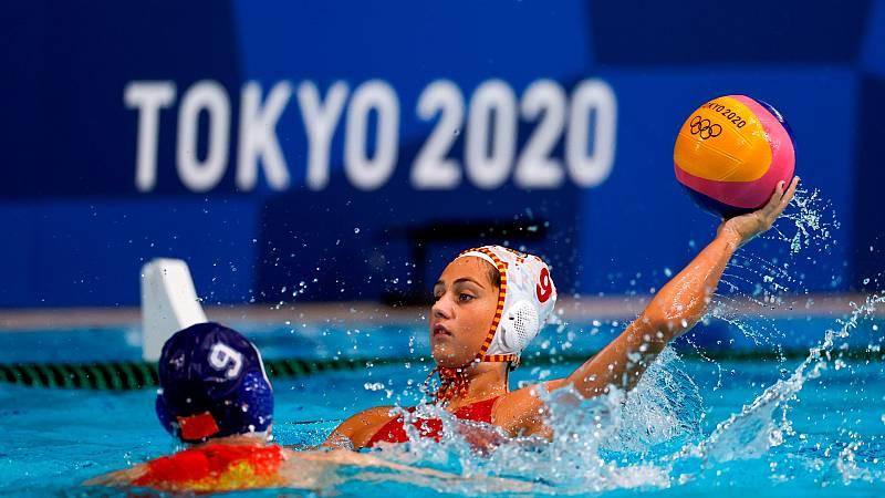 España gana a China 11-7 y se mete en semifinales de waterpolo- Ver ahora