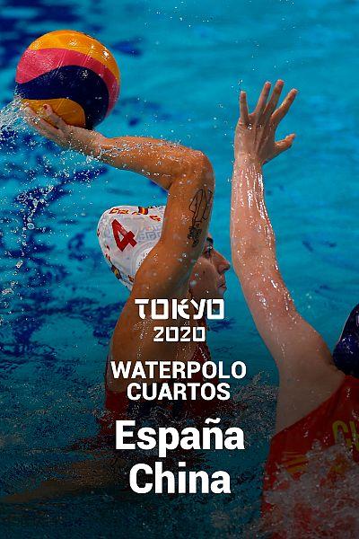 Waterpolo. Cuartos: España - China